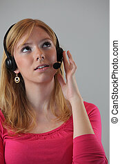 Read-head working in call-center