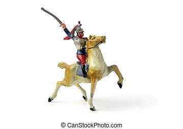 Toy cavalier