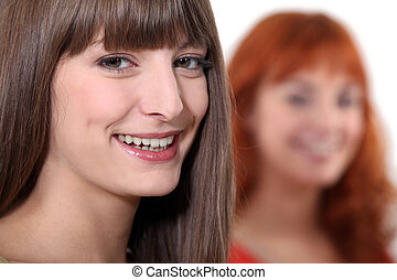 Attractive young women