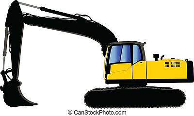 tracked 3 - vector - illustration of tracked - vector