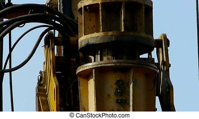 drilling machinery,Construction of city buildings