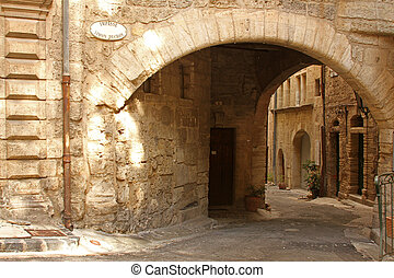 Pezenas, old town in the Languedoc - South of France