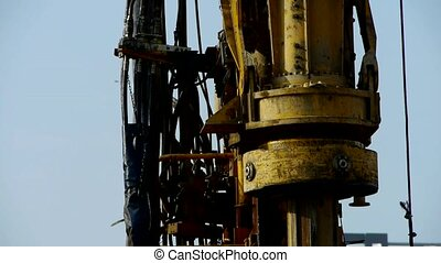 drilling machinery,Construction of city buildings.