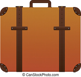 suitcase - illustration of color suicase for travels