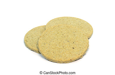Scottish oat cakes - Traditional Scottish oat cakes on a...