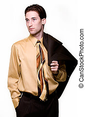 Confident business man - Portrait of a confident handsome...