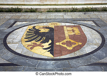 Geneva coat of arms - Coat of arms of the Swiss canton of...