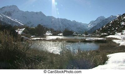 Red Tarns 3 - Mt. Cook. - Red Tarn walkway offers a...