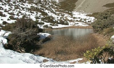 Red Tarns - Mt. Cook. - Red Tarn walkway offers a...