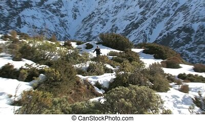 Red Tarns walking track - Mt. Cook. - Mt. Cook, New Zealand....
