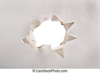 paper with hole - design background