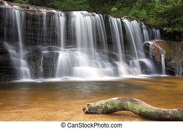 wentworth falls - cascading falls near Sydney Asutralia