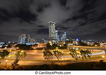 Perth Skyline from Parliament House - The Perth Skyline from...