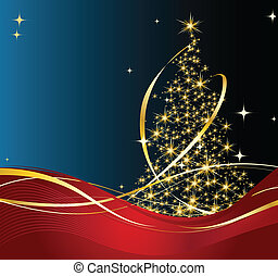 Merry Christmas and happy new year background and decoration