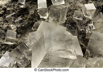 Halite crystal - Halite