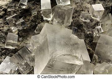 Halite crystal - Halite