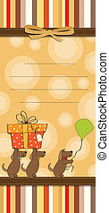 funny cartoon birthday card