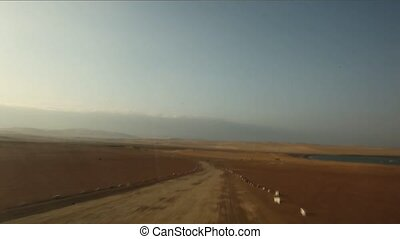 On-board-Cam in Desert