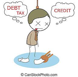 businessman bankrupt
