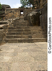 Stone Steps to Caves