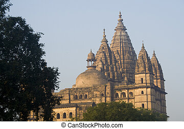 Chaturbhuj Temple, Orchha - Chaturbhuj Temple built by...