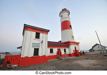 Jamestown Lighthouse, Accra, Ghana - Jamestown Lighthose in...