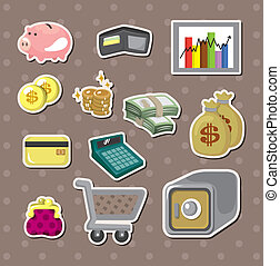 cartoon Finance & Money stickers