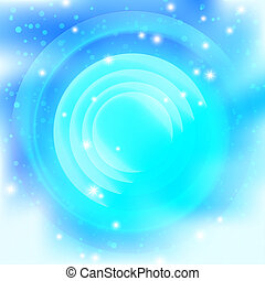 Background, abstract bright blue