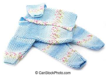 Baby's knitted clothes - Handmade baby's knitted clothes...