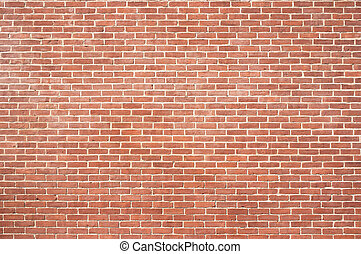 New brick wall texture - Brand new brick background