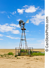 Windmill In Southern Colorado