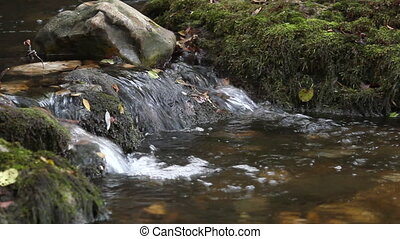 mountain little stream
