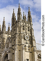 Canterbury Cathedral - Exterior of the Canterbury Cathedral...