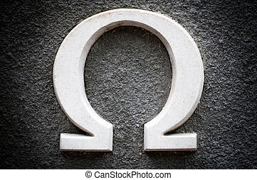 omega - the last letter of the greek alphabet. This letter...
