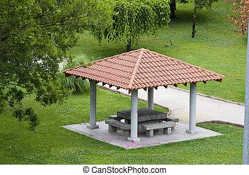 parque, Quiosque