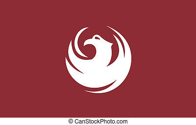 Phoenix city flag - Various vector flags, state symbols,...