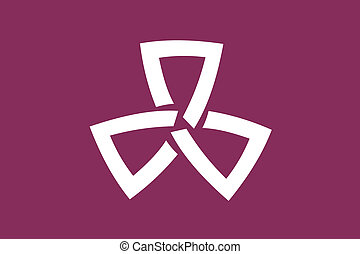 Shinagawa ku flag - Various vector flags, state symbols,...