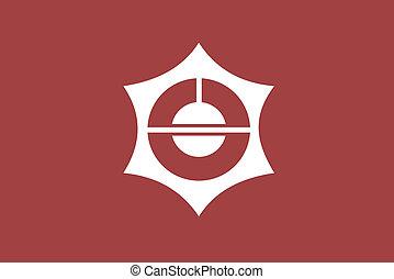 Taitou ku flag - Various vector flags, state symbols,...