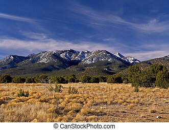 Ortiz Mountains, Turquoise Trail - Heading south from Santa...