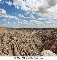 Badland National Park South Dakota - The Badlands United...