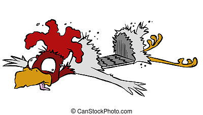 Roadkill Chicken - So why DID that chicken cross the road...