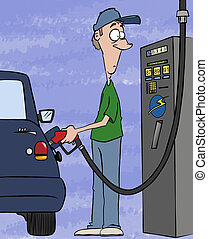Pumping Your Wallet - Pumping gas these days Filling your...