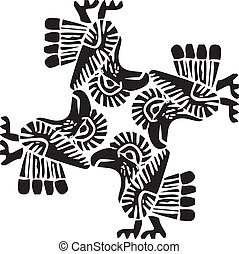 Ancient pattern illustration - Ancient pattern. Vector...