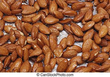 Maple Glazed Almonds