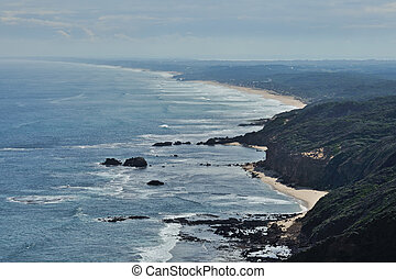 Mornington Peninsula beaches - Scenic view and Mornington...