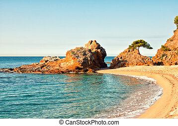 Beautiful view of seashore