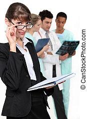 A health inspector