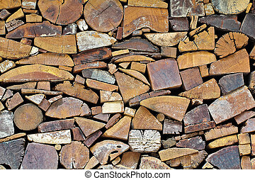 Tree stumps for texture or background used