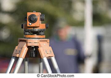 Site surveying equipment
