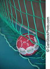 Handball in net